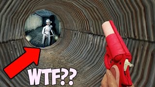GTA 5 SECRET HIDDEN MONSTER IN THE SEWERS! (GTA 5 ONLINE)