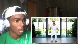 DANCING WITHOUT MOVING NIGAHIGA REACTION    THIS WAS IMPRESSIVE