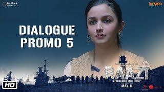 Raazi | Dialogue Promo 5 | Ek Bhul Ek Chuk