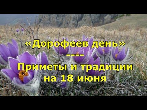 Народный праздник «Дорофеев день». Приметы и традиции на 18 июня.