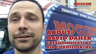 About David Daher And Freedom Heating & Air Conditioning