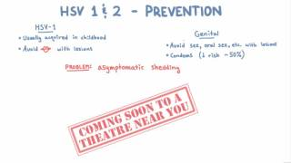 HSV 1 and 2 Prevention