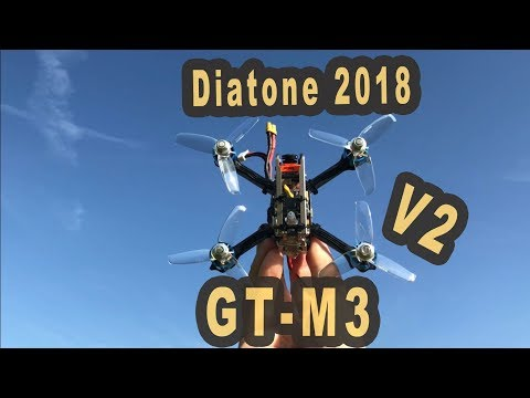 Diatone GT M3 V2 schnellster 3 Zoll FPV Racer