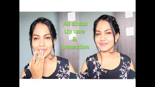 ALL ABOUT LIP CARE & PROTECTION || MY CURRENT LIP CARE ROUTINE || Glow Gossip