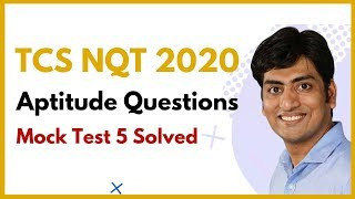 TCS NQT Previous Year Paper Discussion ! Easy Trick to Solve TCS
