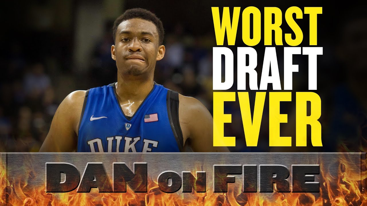 The 2014 NBA Draft is the worst ever (Dan on Fire) thumbnail