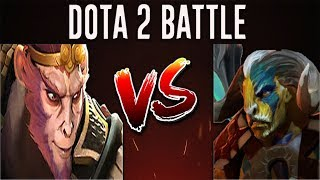 Dota 2 Battle #18 | Elder Titan Versus Monkey King