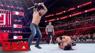 Dean Ambrose vs. Drew McIntyre - Last Man Standing Match: Raw, March 25, 2019
