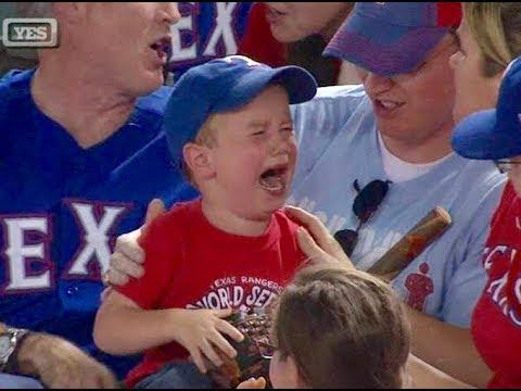 Sports Fans Stealing Ball from Kids (HD)