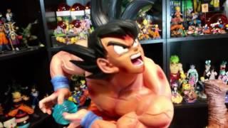 Goku kaioken Kamehameha Vs Vegeta Galick Gun MRC Dragon Ball Z Collectors United Exclusive