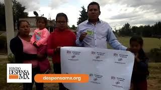 Beneficiario de la Fundación Vamos a Dar