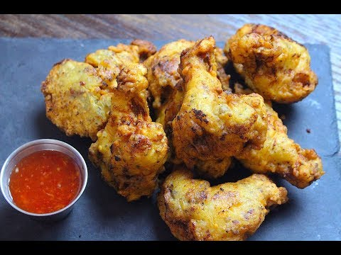 GARLIC FRIED CHICKEN WINGS *COOK WITH FAIZA*