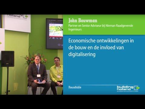 Economische ontwikkelingen in de bouw en de invloed van digitalisering