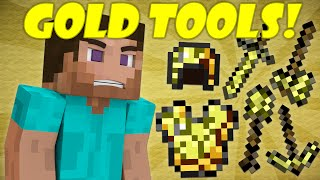 Why Gold Tools Break Quickly - Minecraft