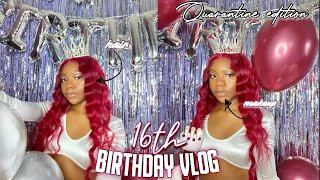 MY QUARANTINE 16TH BIRTHDAY VLOG! | KEKE T.