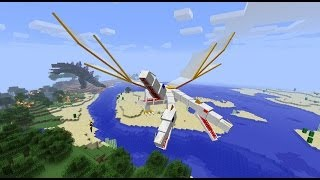 Minecraft: Crazy Craft 2.0 Modded Survival w/Mitch! Ep. 4 - THE KING DRAGON! (Crazy Mods)