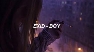 EXID (이엑스아이디) 'BOY' (보이) Easy Lyrics