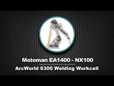 Motoman ArcWorld 6300 Equipped with Three EA1400 Robots