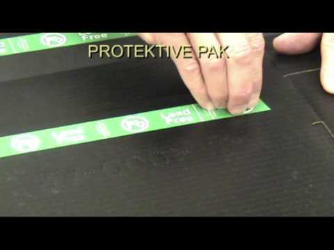 PROTEKTIVE PAK Material Test