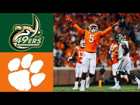 Charlotte vs #1 Clemson Highlights | NCAAF Week 4 | College Football Highlights
