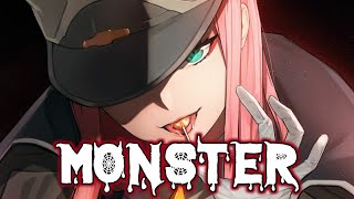 ♪ Nightcore - Monster   Gabbie Hanna 【Lyrics】