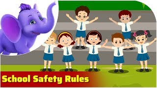 School Safety Rules | Safety Rule Songs | 4K | Appu Series