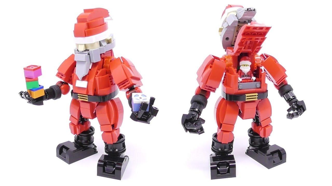 LEGO - Santa Claus Mech Suit - Stop Motion Build