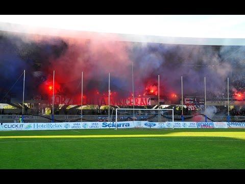 Sambenedettese - Lecce 1-1, Video Tifo
