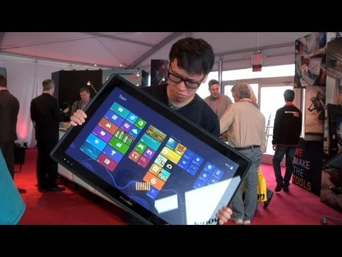 CES 2013: Hands-On with Lenovo's IdeaCentre Horizon