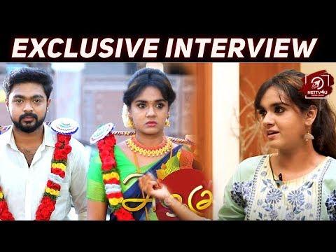 Exclusive Interview With Vignesh And Sahana! Sun TV Azhagu Serial Stars