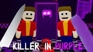 * NOUVEAU JEU * JOUER en tant que PURPLE GUY Pousser les ENFANTS dans le DUMPSTER! | FNAF The Killer en violet 2
