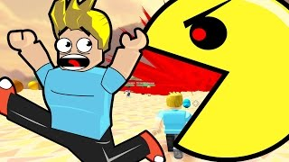 Roblox / Survive the Disasters! / Escape the Giant Pac Man! / Gamer Chad Plays
