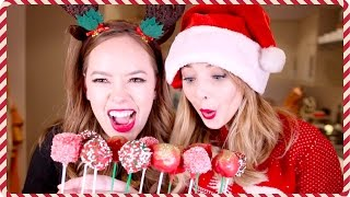 Christmas Cake Pops With Tanya | Zoella