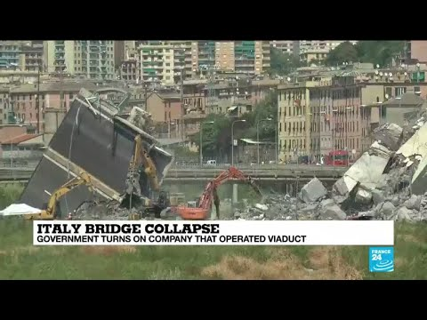 Italy bridge collapse: witnesses and locals suffering from trauma