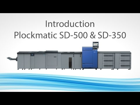 Plockmatic SD-500 / SD-350 Booklet Makers Mp3