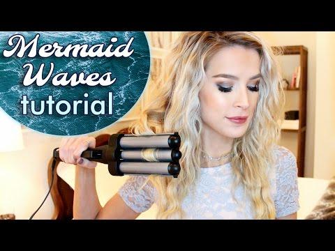 Easy Mermaid Waves Hair Tutorial | leighannsays