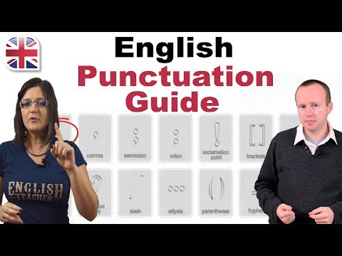 English Punctuation Guide - English Writing Lesson