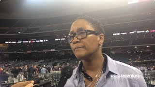 Ann Wolfe Reacts To James Kirkland Loss (HBO Boxing)