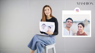 Mahira Khan Reacts To Her Most Iconic Instagram Photos | Mashion | Part 2