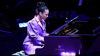 Alicia Keys Performs at A Celebration of Life for Kobe and Gianna Bryant