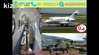 Take Sky Air Ambulance Service with Top-Class Medical Services in Bangalore