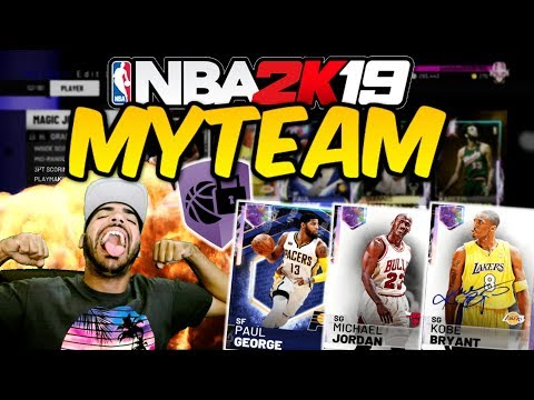 NBA 2K19 MYTEAM UNLIMITED LIVE! Grind to 20,000 SUBSCRIBERS! GALAXY OPAL SQUAD GAMEPLAY