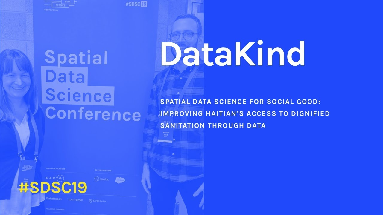 Spatial Data Science for Social Good