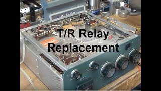 SB200 Linear Amplifier - Capacitor & T/R Relay Replacement