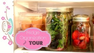 Easy Fridge Organization to Keep Food Fresh + to Grab & Go {how to organize}