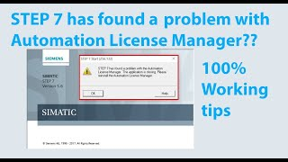 Simatic Manager Step 7 v5 6 Installation on windows 10 - hmong video