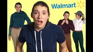 EQUESTRIAN CLOTHES AT WALMART?! (3 Outfits Under $100)