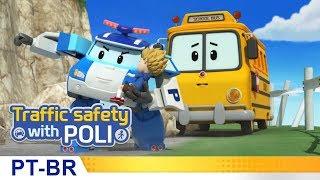 Segurança no trânsito com Poli   #24.Cinto de segurança