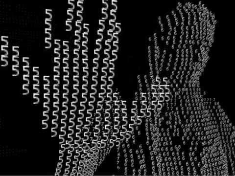 Real time typography with kinect or webcam - Processing 2 x