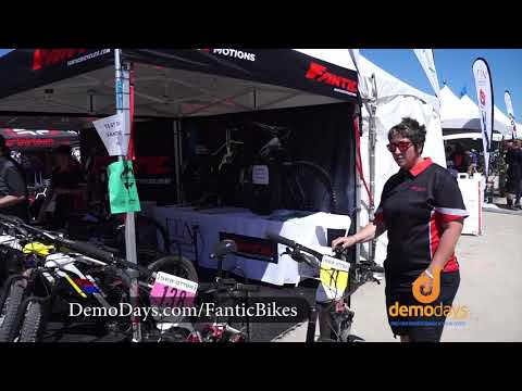 Fantic Motorcycle Inspired Electric Mountain Bikes & Demos